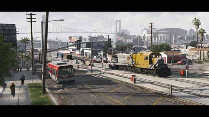 Grand Theft Auto 5 Trailer 2 street screenshot