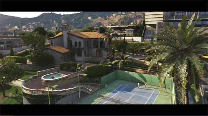 Grand Theft Auto 5 Trailer 2 villa screenshot