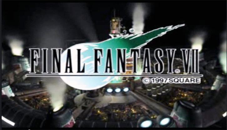 Final Fantasy 7 intro