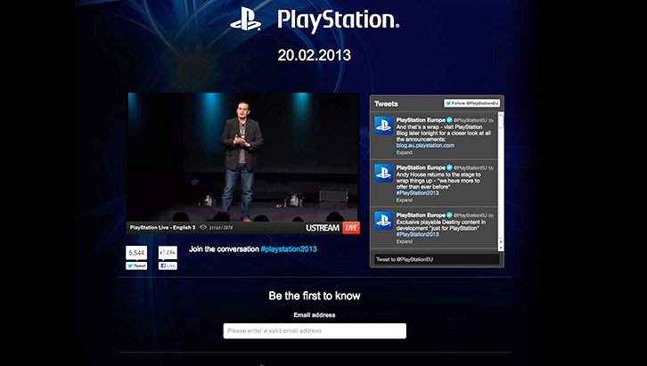PS4 Event Stream shot