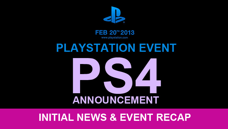 PS4 Event Recap