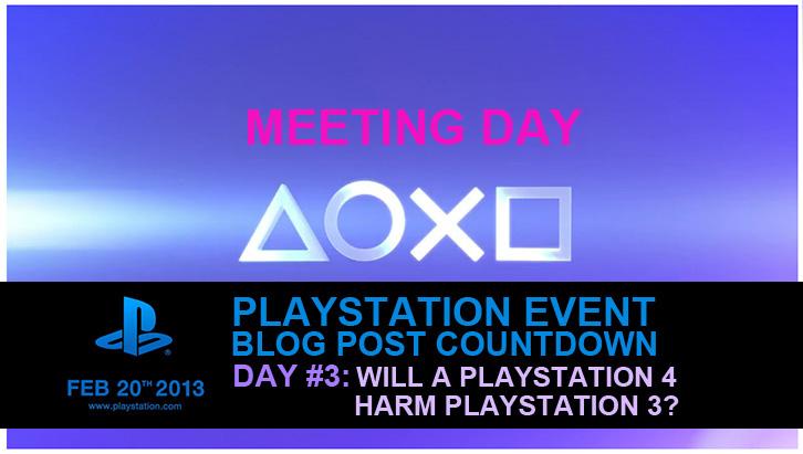 PS4 Harm PS3?