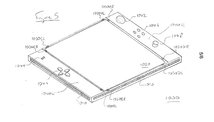 PS Eyepad patent drawing