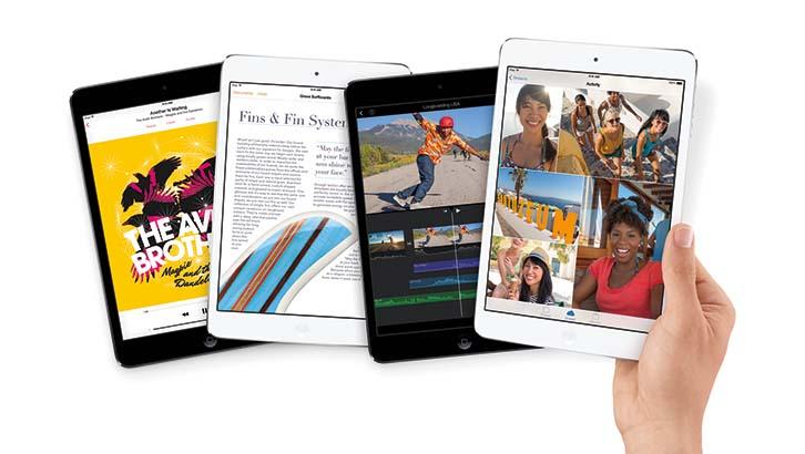 Apple iPad Mini with Hand