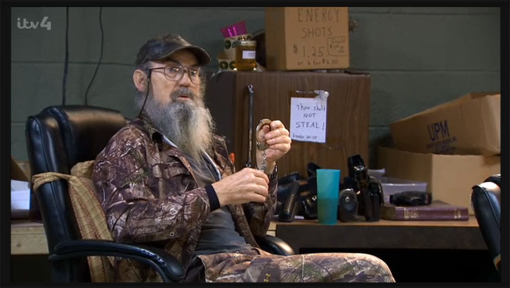 Duck Dynasty Silas Shot