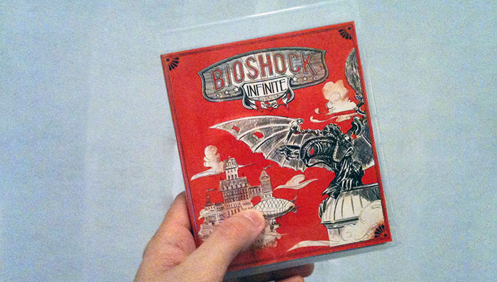 Bioshock Infinite PS3 box