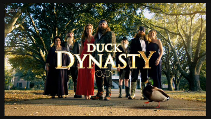 Duck Dynasty Title Screen